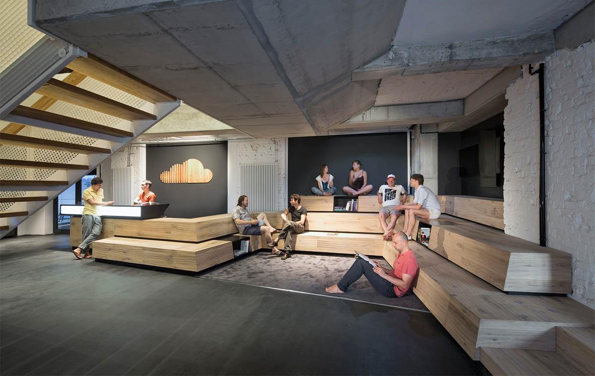 DEU, Berlin, 06/2014, Kinzo_Soundcloud,  Architekt: Kinzo, Bildtechnik: Digital-KB